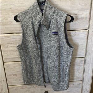 NWOT Patagonia grey sweater vest